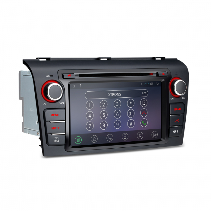 """-Out of Stock- NAVIGATIE MAZDA 3 (2004-2009), ANDROID 8.1, QUADCORE / 1GB RAM CU DVD, 7"""" 3"""