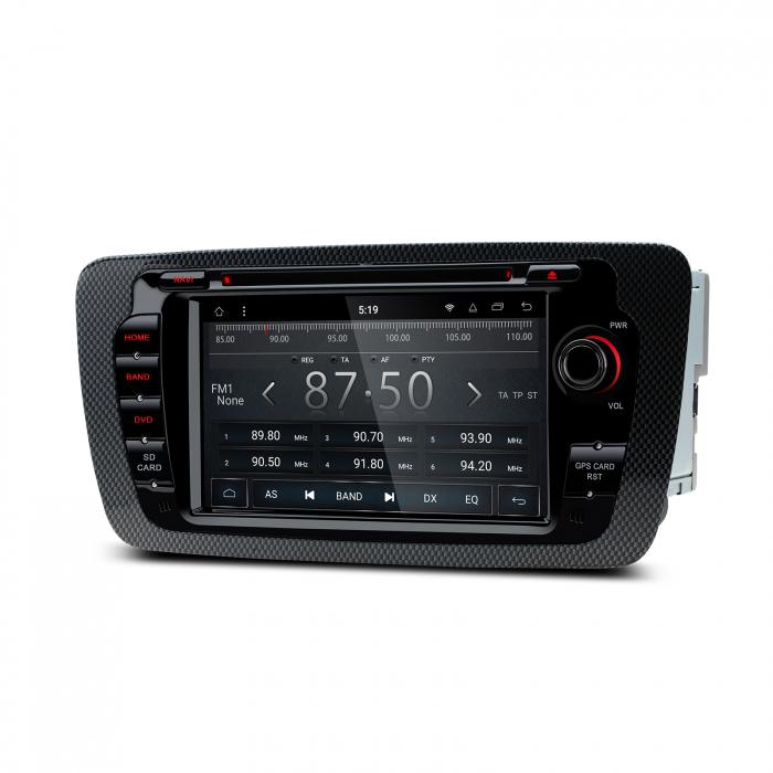 "-OUT OF STOCK- Navigatie Android 8.1 OREO Ibiza MK4, FR, Ecomotive, Cupra Concept, Bacanegra, Cupra OCTACORE / 2GB RAM cu DVD, 7"" Inch 2"
