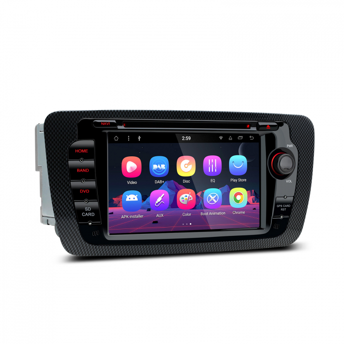 "-OUT OF STOCK- Navigatie Android 8.1 OREO Ibiza MK4, FR, Ecomotive, Cupra Concept, Bacanegra, Cupra OCTACORE / 2GB RAM cu DVD, 7"" Inch 3"