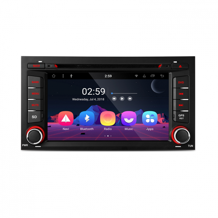 """-Out of Stock- Navigatie Seat Leon (2013-2018)  Android 8.1 OREO OCTACORE / 2GB RAM cu DVD, 7"""" Inch 1"""