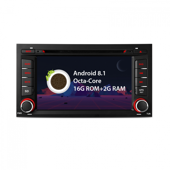 """-Out of Stock- Navigatie Seat Leon (2013-2018)  Android 8.1 OREO OCTACORE / 2GB RAM cu DVD, 7"""" Inch 0"""