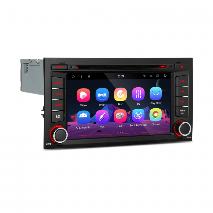"""-Out of Stock- Navigatie Seat Leon (2013-2018)  Android 8.1 OREO OCTACORE / 2GB RAM cu DVD, 7"""" Inch 2"""