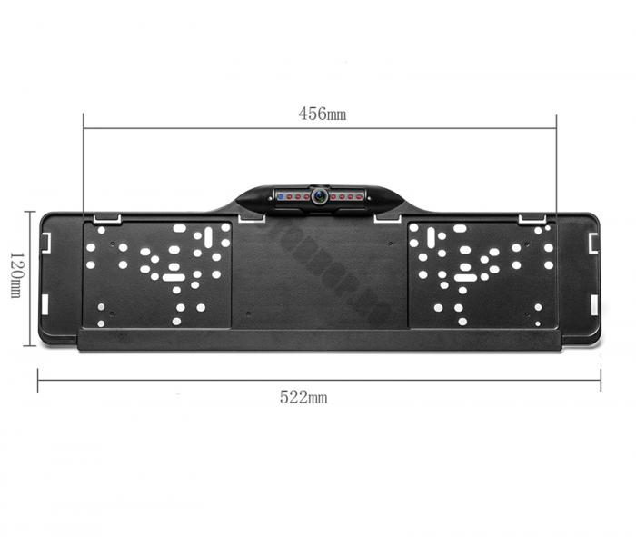 Camera Auto Marsarier Integrata in Suport Numar   AD-BGPCM120 [2]