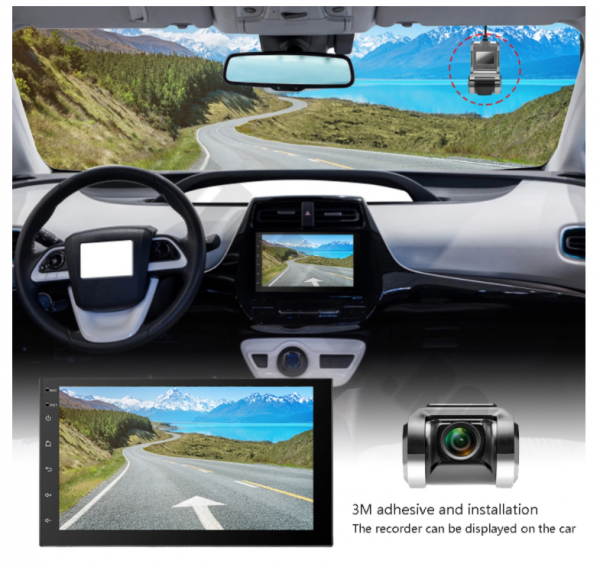 Camera Auto Trafic DVR, Afisaj pe navigatie | AD-BGCMDVR2 [3]
