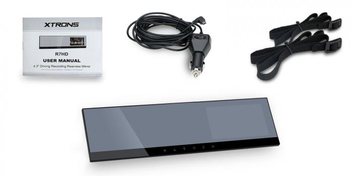 Oglinda DVR full HD 1280x720P 3
