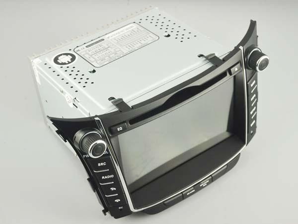 "NAVIGATIE HYUNDAI I30 (2011-2013), ANDROID 9, QUADCORE / 2GB RAM cu DVD, 7"" INCH 3"