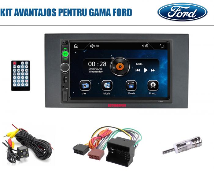 MP5 DVD Player Auto FORD | Bluetooth, USB, Camera Marsarier [0]