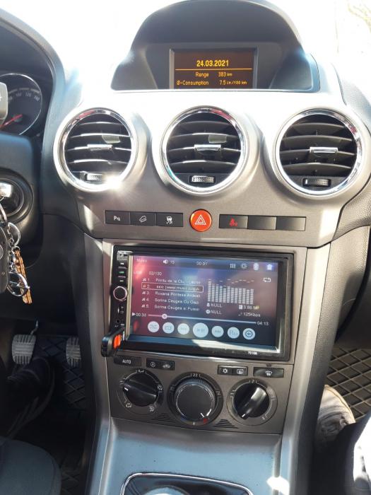 MP5 DVD Player Auto OPEL | Bluetooth, USB, Camera Marsarier 8