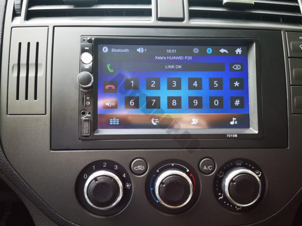 MP5 DVD Player Auto FORD | Bluetooth, USB, Camera Marsarier 7