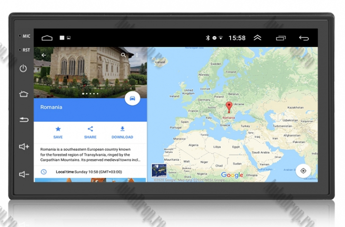 Navigatie Auto All-in-One 2DIN, Android 8.1 - AD-BGP1001 15