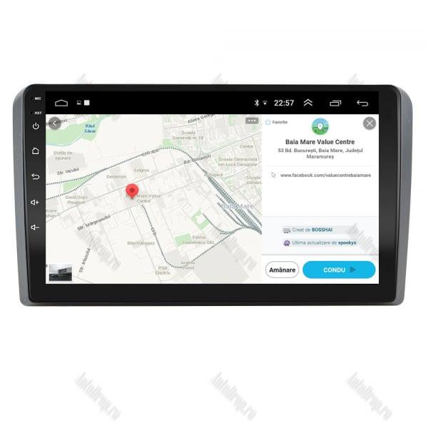 Navigatie Dedicata Audi A3 9 Inch Android   AutoDrop.ro [10]