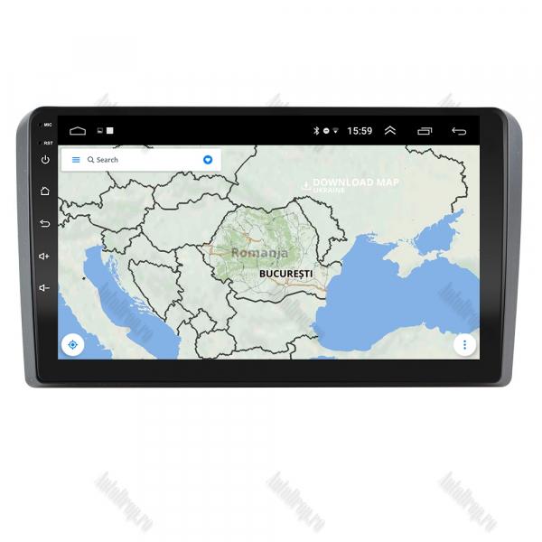 Navigatie Dedicata Audi A3 9 Inch Android   AutoDrop.ro [7]
