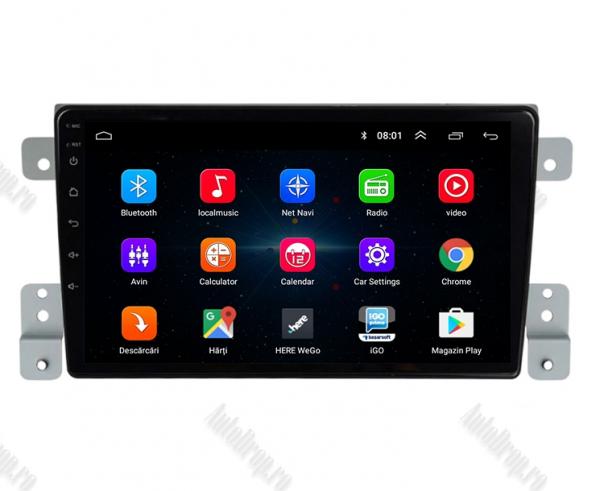 Navigatie Android Suzuki Grand Vitara | AutoDrop.ro 1