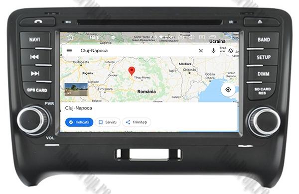 Navigatie Auto GPS Audi TT 4GB+64GB | AutoDrop.ro 12