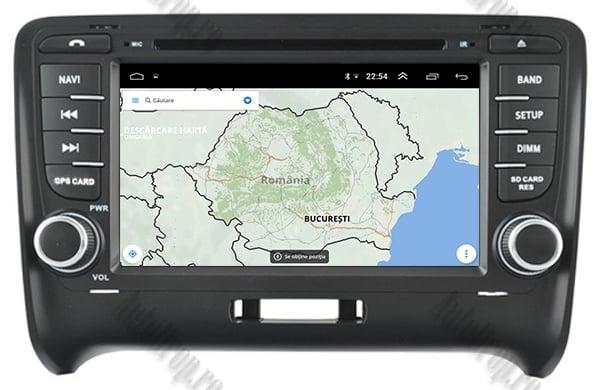 Navigatie Auto GPS Audi TT 4GB+64GB | AutoDrop.ro 13