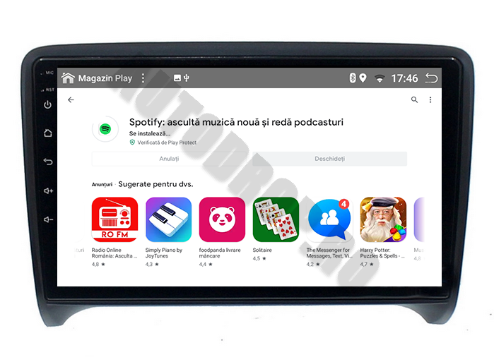 Navigatie Android Audi tt PX6 | AutoDrop.ro [11]