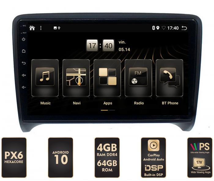 Navigatie Android Audi tt PX6 | AutoDrop.ro [0]