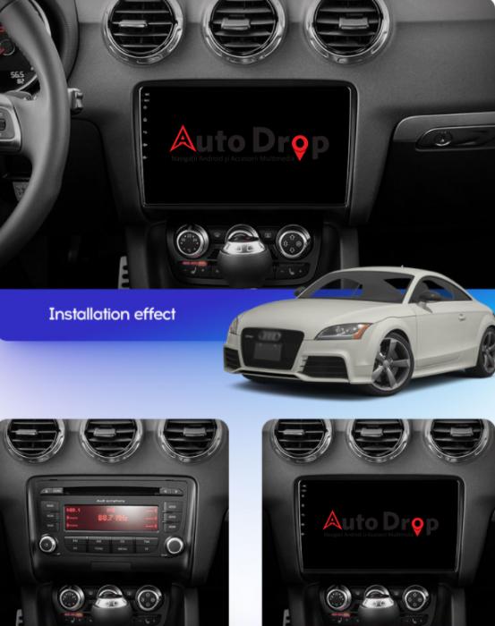 Navigatie Dedicata Audi TT 9 Inch Android | AutoDrop.ro [15]