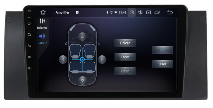 Navigatie BMW E39/E53 4GB RAM & 64GB ROM | AutoDrop.ro 7