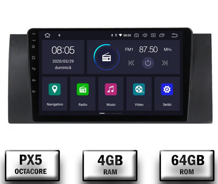Navigatie BMW E39/E53 4GB RAM & 64GB ROM | AutoDrop.ro 0