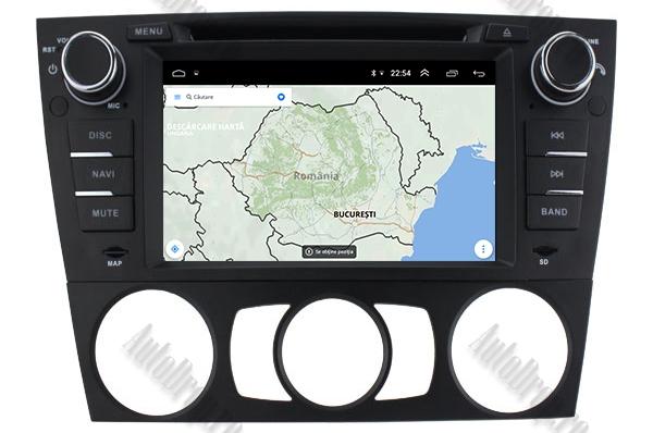 Navigatie BMW E90/E91/E92 Android, 4GB RAM si 64GB ROM 12