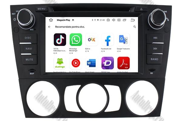 Navigatie BMW E90/E91/E92 Android, 4GB RAM si 64GB ROM 9