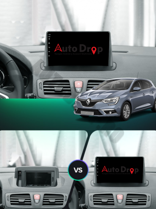 Navigatie Android Renault Megane 3 2GB | AutoDrop.ro [16]