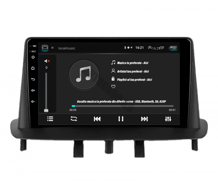 Navigatie Android Renault Megane 3 2GB | AutoDrop.ro [5]