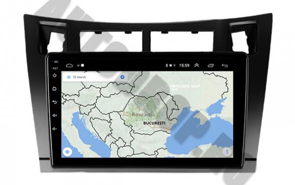 Navigatie Dedicata Toyota Yaris Android | AutoDrop.ro 7