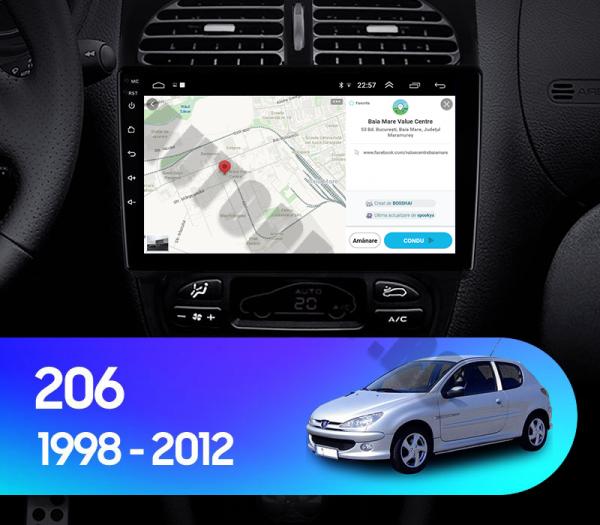 Navigatie Peugeot 206 Android 1+16GB | AutoDrop.ro [17]