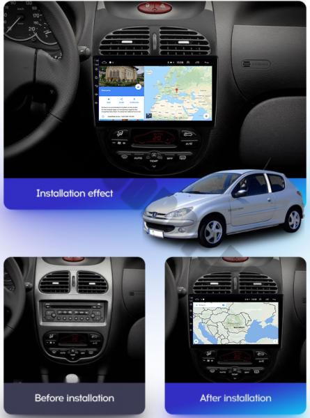Navigatie Peugeot 206 Android 1+16GB | AutoDrop.ro [16]