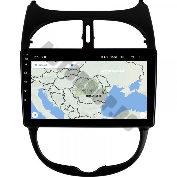 Navigatie Peugeot 206 Android 1+16GB | AutoDrop.ro [5]