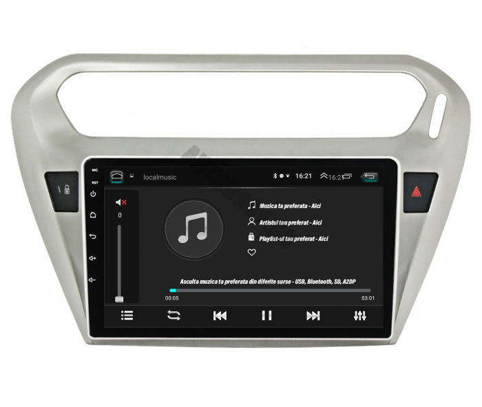 Navigatie Peugeot 301 / Citroen C-Elysee 2GB   AutoDrop.ro [5]