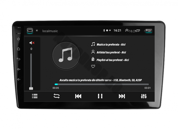 Navigatie Peugeot 307 cu Android 2+32GB | AutoDrop.ro 9