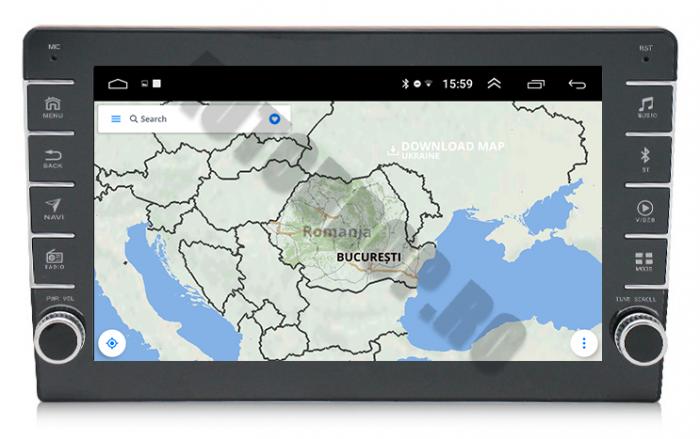 Navigatie Dacia, Android, 9Inch | AD-BGPDACIA9INCH 8