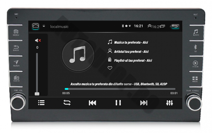 Navigatie Dacia, Android, 8 Inch, 2+32GB | AutoDrop.ro 6