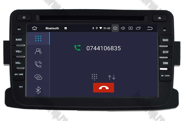 Navigatie Dedicata Dacia/Renault, Android 10, AD-BGWDACIA7P3 5