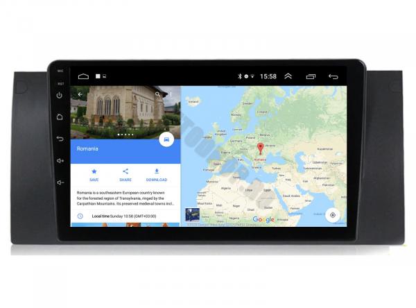 Navigatie BMW E39/X5 Android 1+16GB | AutoDrop.ro 11