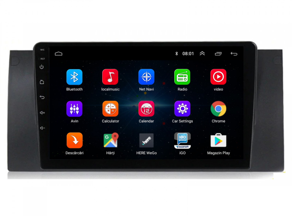 Navigatie BMW E39/X5 Android 1+16GB | AutoDrop.ro 1