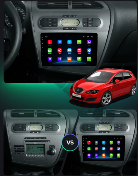 Navigatie Dedicata Seat Leon 1+16GB | AutoDrop.ro 17