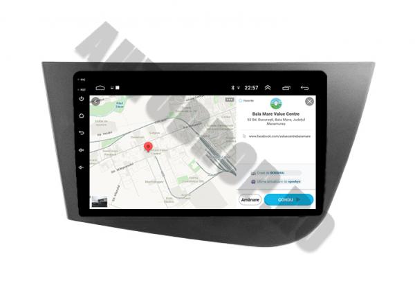 Navigatie Dedicata Seat Leon 1+16GB | AutoDrop.ro 10