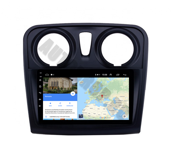 Navigatie Dacia Sandero Duster Android PRO   AutoDrop.ro [11]