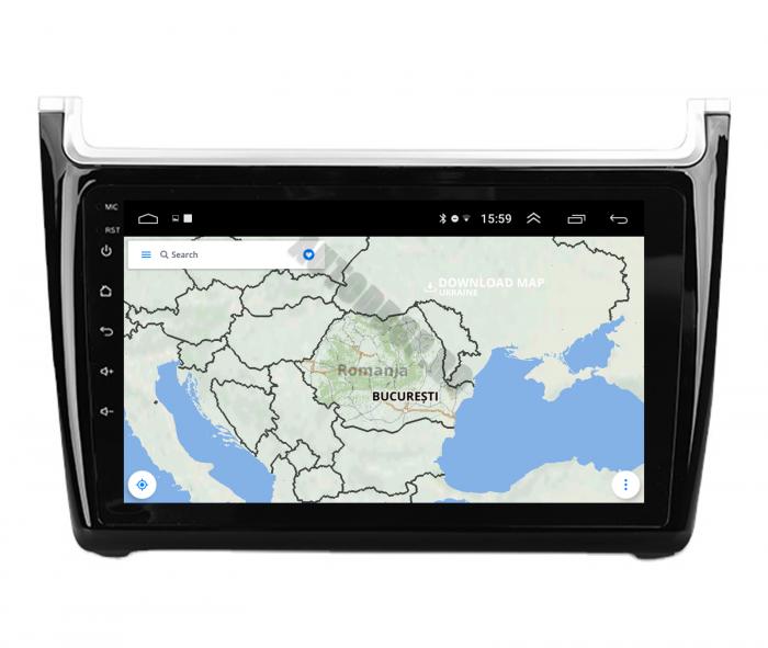Navigatie Android Volkswagen Polo 5   AutoDrop.ro [10]