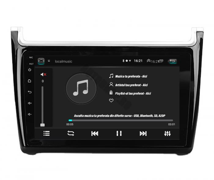 Navigatie Android Volkswagen Polo 5   AutoDrop.ro [6]