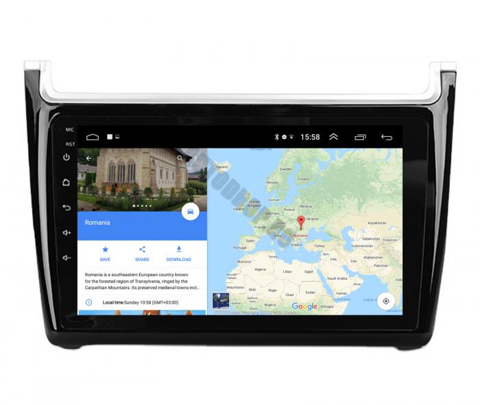 Navigatie Android Volkswagen Polo 5   AutoDrop.ro [13]