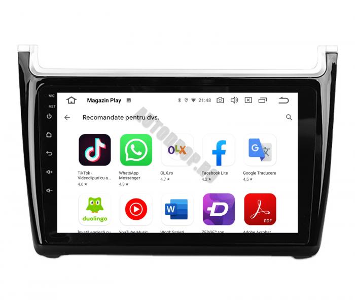 Navigatie Android Volkswagen Polo 5   AutoDrop.ro [3]