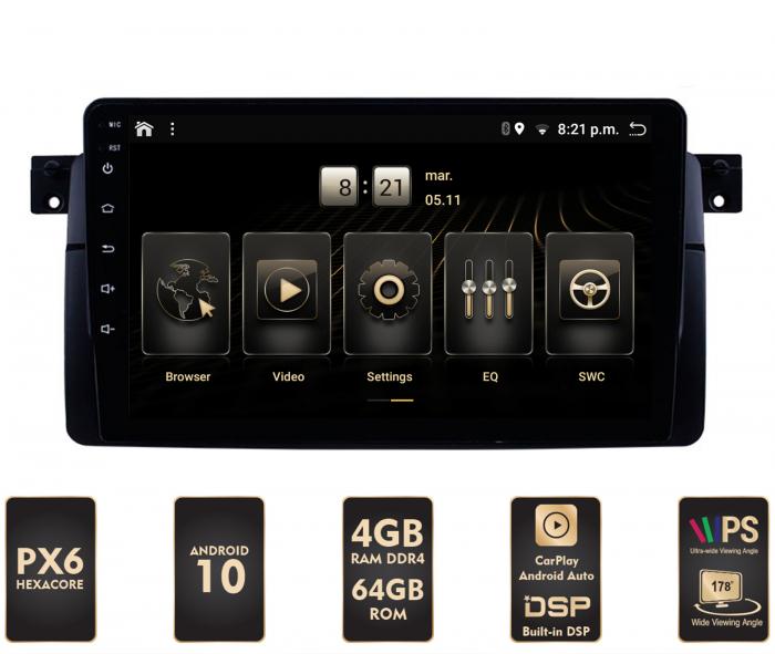 Navigatie Android BMW E46 PX6   AutoDrop.ro [0]