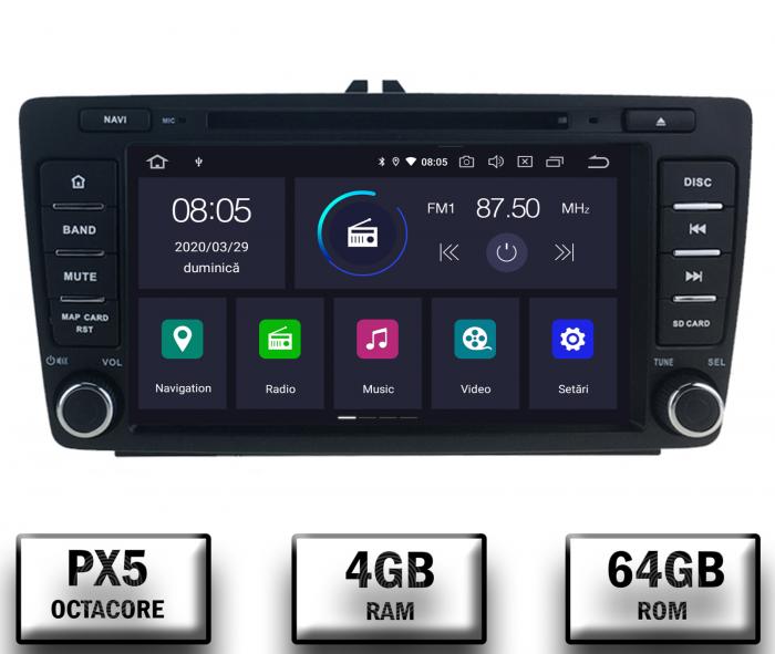 Navigatie Skoda Octacore/4GB cu Android 10 - Autodrop.ro 0