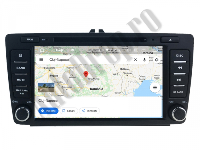 Navigatie Skoda Octacore/4GB cu Android 10 - Autodrop.ro 11