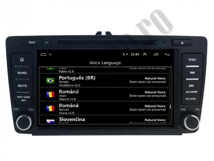 Navigatie Skoda Octacore/4GB cu Android 10 - Autodrop.ro 15